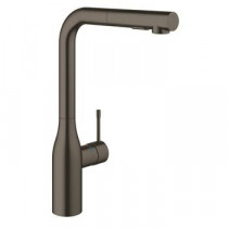 Grohe Essence New Köksblandare Dual Dusch (Brushed Hard Graphite)