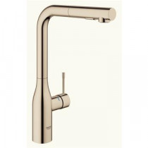 Grohe Essence New Köksblandare Dual Dusch (Polished Nickel)