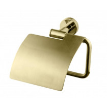 Tapwell TA236 Honey gold. Toalettpappershållare med lock