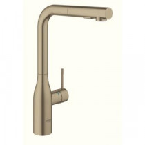 Grohe Essence New Köksblandare Dual Dusch (Brushed Nickel)