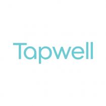 Tapwell 22200 Brushed Black Chrome. Bottenventil pop-up. Badkar
